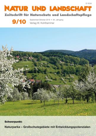 """Final U1 NuL 09 10 2019 CMYK 300dpib Schwerpunktausgabe """"Naturparke"""" in  """"Natur und Landschaft"""""""
