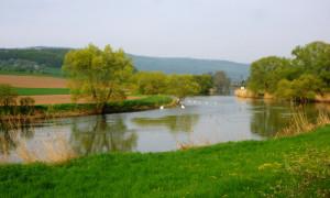 Frühling an der Werra - Copyright: Sibylle Susat