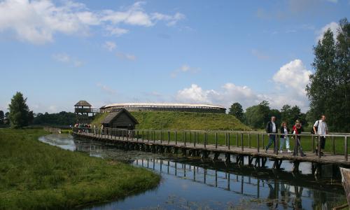 Freilichtmuseum Groß Raden T. Claus beitrag Land der Fischer und Durchbruchstäler   Naturpark Sternberger Seenland