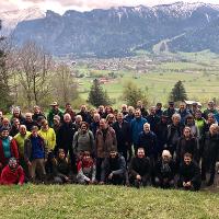 Wanderung auf der Geschäftsführertagung 2019 im Naturpark Ammergauer Alpen - Copyright: Mathias Allgäuer