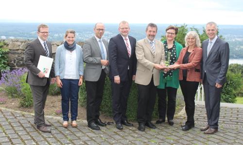 """IMG 5784 2 """"Historischer Rahmen""""   12. Petersberger Naturparkgespräch"""