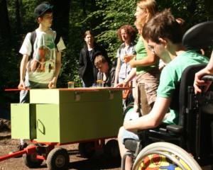 Das mobile Waldlabor - Copyright: Jörg Liesen