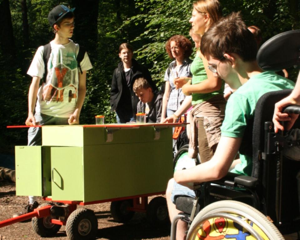 """IMG 9646 """"Das mobile Waldlabor"""" – Naturerlebnis auf vier Rädern"""