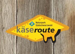Käseroute_Logo auf Holz