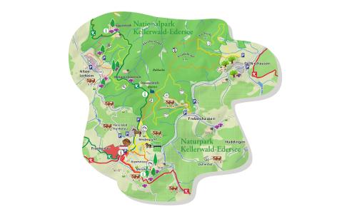 Karte bf Arche Erlebnispfad – Zeitreise und Landschaftserlebnisse