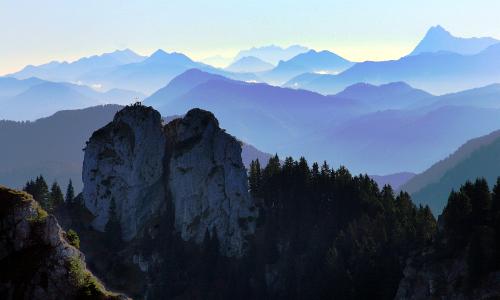 Klettergebiet Ettaler Manndl CC Thomas Bichlerb Naturpark Ammergauer Alpen
