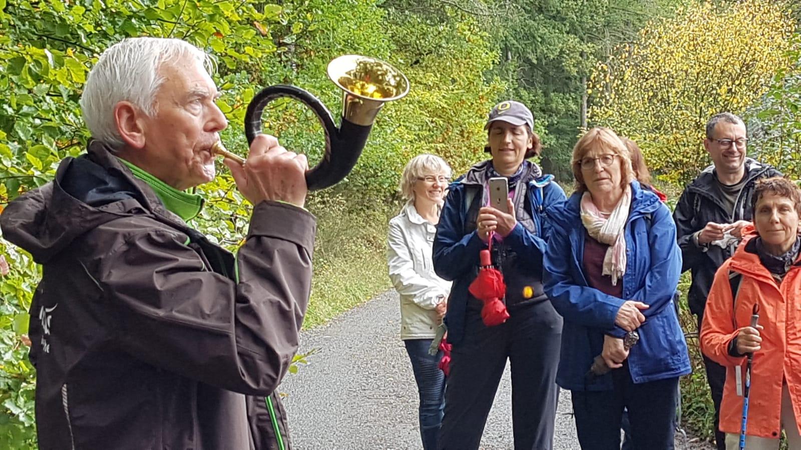 Kulinarische Wanderung Wild 10 2019 Wolfgang Gut geführt!