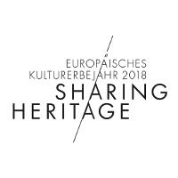 """Logo """"Europäisches Kulturerbejahr 2018"""" - Copyright: Deutschen Nationalkomitee für Denkmalschutz"""