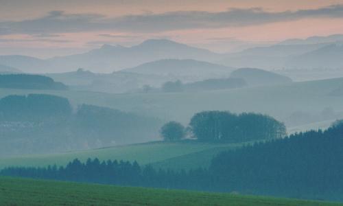 Morgenstimmungb Naturpark Arnsberger Wald