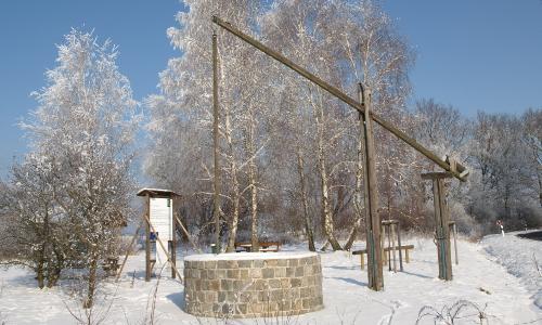 NPF Zieh brunnen bei Wahlsdorf beitrag Abwechslung und Ruhe – Naturpark Fläming