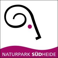 "NPSüdheide Logo NEU  200x200 ""Das Gold der Heide"""
