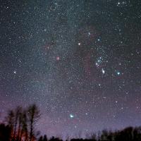 Nachthimmel © Dr Andreas Haenel
