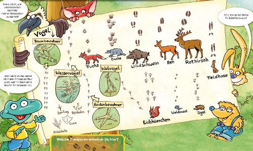 NaturparkEntdecker TierspurenNL Entdeckertipp: Spurensuche im Schnee