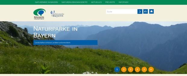 Naturparke in Bayern 620x255 Neue Bundesländerseiten