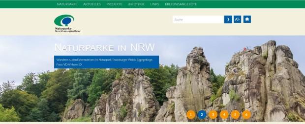 Naturparke in NRW1 620x254 Neue Bundesländerseiten