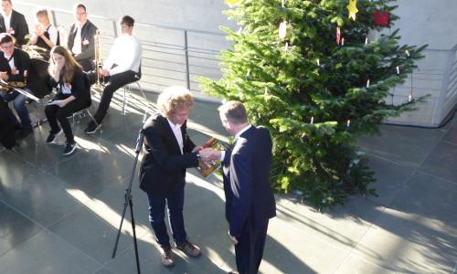 P1030062 Große Freude   Weihnachtsbaum für den Deutschen Bundestag