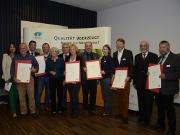 """Auszeichnung """"Qualitätsoffensive Naturparke 2014"""" - Copyright: VDN"""