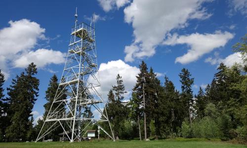 Prinz Luitpolt Turm Bildrechte Randolf Hartmann B Der Döbraberg