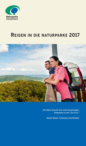 """Reisebroschüre 2017 Seite 1 300x509 """"Paradiesisch gut!"""" – Reisen in die Naturparke 2017"""