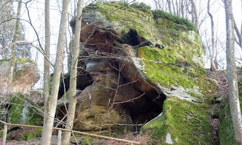 Rhätsandsteinb Naturpark Haßberge
