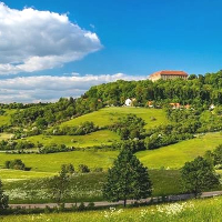 Schillingsfürst Anstieg Schlossbf