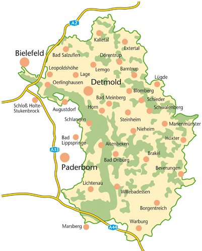 Steckbrief Naturpark Übersicht Naturpark TWE 500PX Der Naturpark Teutoburger Wald/Eggegebirge