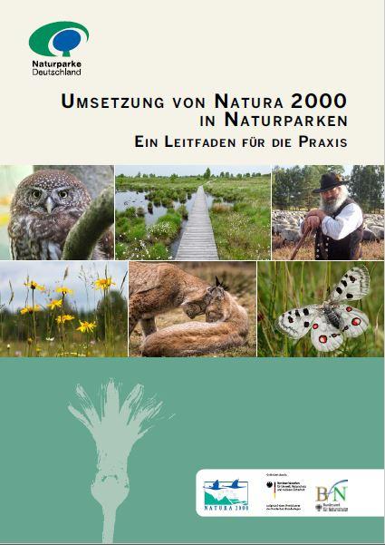 Titel Leitfaden Naturparke unterstützen Natura 2000