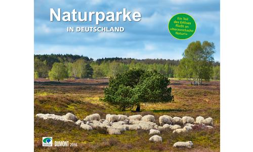 """Titelbild Kalender DuMont 2016 Beitragsbild """"Druckfrisch""""   Naturparke Fotokalender 2016"""
