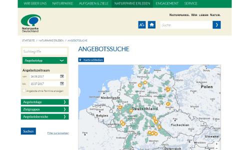 Website Angebotssucheb VDN Website neu gestaltet