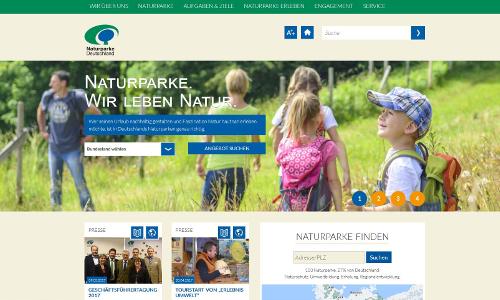 Website Startseiteb VDN Website neu gestaltet