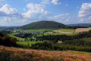 Der Wilzenberg im Nordwestteil des Rothaargebirges - Copyright: Volkmar Brockhaus