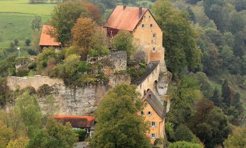 burg pottenstein Beitrag Stein auf Stein   Burgen in Naturparken