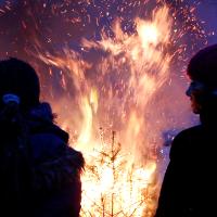 Das Ende der Weihnachtszeit im Naturpark: Elbhöhen-Wendland - Copyright: VDN/Klaus Mayhack