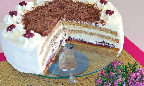 rezept buchweizen torte beitrag Buchweizentorte aus dem Naturpark Lüneburger Heide