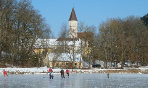 schlossweiher febr 2012 beitrag Stille Zeit – Winter erleben in Naturparken