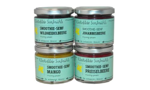 """smothie senf beitrag Klosterfelder Smoothie Senf Variationen """"Frucht trifft Schärfe"""""""
