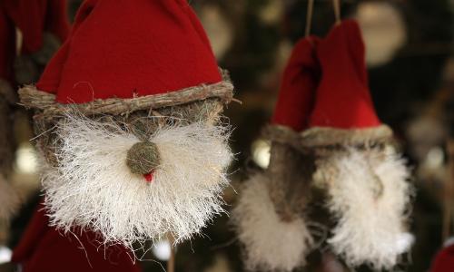 """weihnachtsmann """"Von Nikolaus und Weihnachtsmann"""" − Weihnachtsbräuche in Naturparken"""