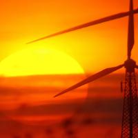 Windenergie und Sonnenenergie © VDN/Gudrun Treuke-Daglioglu