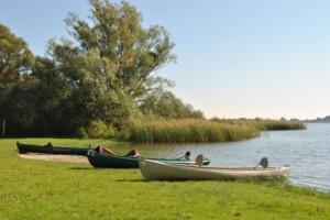 Rast am Hohennauener See.-(c)- Naturpark Westhvaelland