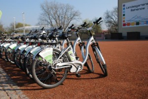 E-Bikes im Optikpark (Tourismusverband Havelland)