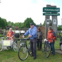 Frühlingsradtour der Naturwacht (Foto: Sabine Clausner)