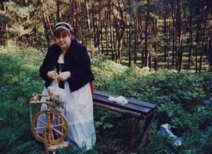 Unterwegs mit Frau Harke - Schutzpatronin des Havellandes