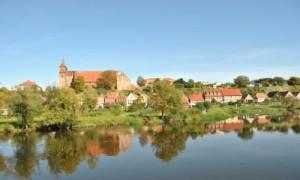 Blick auf die Domstadt Havelberg