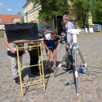 Merkurdurchgang am 09. Mai 2016 in Milow (Foto: Claudia Hesse)