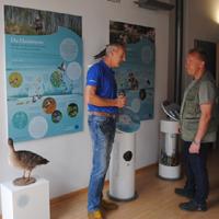 Jahn Lippke (re.) und Rene Riep bei der Qualitätsoffensive