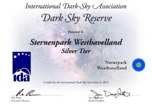 Sternenpark Westhavelland (IDA)