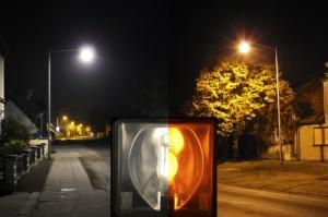 Vergleich Natrium-Dampflampe mit LED-Leuchte (Sascha-Höhne)