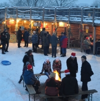 Weihnachtsmarkt in Liepe (Verein Leben aus der Mitte e.V.)