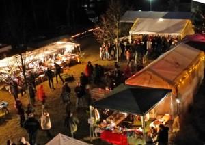 Weihnachtsmarkt in Milow (W. Ganzer)